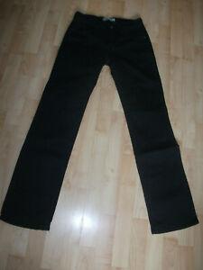 Levis 627 schwarze Jeans Levi´s Hose W 27 L 32  Stretch straight fit