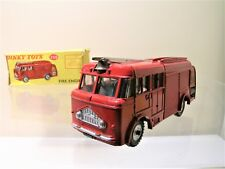 DINKY TOYS UK No.259 BEDFORD MILES FIRE ENGINE 1961 + BOX SCALE 1:43