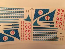 DC-8 Decals VEB PLASTICART
