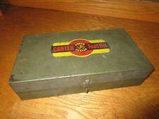 Carter Carburetor Power Center Tool Box 1950's-1960's Chrysler Packard Chevrolet