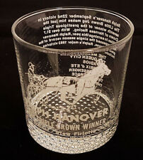 1983 Triple Crown of Harness Racing Winner. Ralph Hanover. Rocks Glass. Trotters