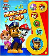 Paw Patrol Book Music Note Songs Kids Toddler Boy Girl Gift Interactive New