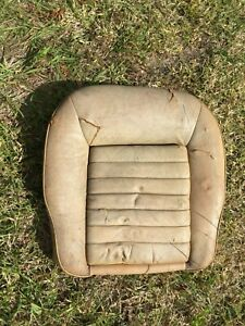 Jaguar XJS Early Seat Bottom Cushion with Original Leather