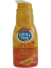 2 Sex On The Beach Flavored Stimulating Lube Condom Friendly Safe Fun Sex 75ml