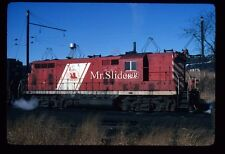 Original Slide CNJ Jersey Central Red/White GP7 1524 In 1977 AT S. Amboy NJ