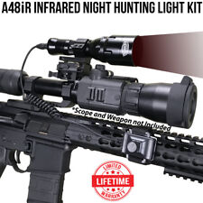 Wicked Lights A48iR Infrared Night Hunting Light Kit for Night Vision