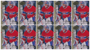 (10) 2008-09 Upper Deck 20th Anniversary #UD-73 Carey Price Montreal Canadiens