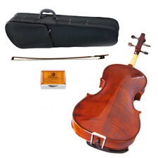 """New High Quality 15.5"""" Size Viola Solid Wood Intermediate Level Viola Package"""