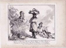 G12-J.B.LE PRINCE-EAUX FORTES-CRIS DE MARCHANDS RUSSE-SUITE DE HUIT-1764
