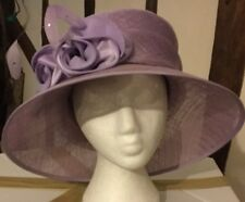 Gorgeous Lilac Wedding Hat By Jacques Vert BNWT Races REDUCED !