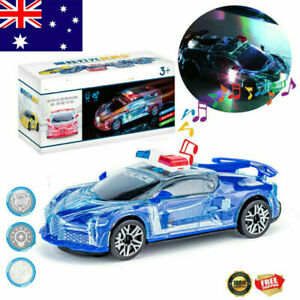 Toys For Kids Gift Police Car LED Light Boys 1 2 3 4 5 6 Year Old Cool Xmas Gift