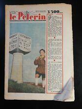N187 Le Pèlerin N 3500 11 décembre 1949 Pat'apouf, scout, demi-million d'abonné