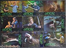 Cryptozoic Arrow Training Foil Parallel Complete Set TR1-TR9 Trading Cards DC CW