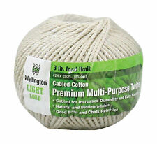 Wellington #24 in. Dia. x 280 ft. L White Twisted Cotton Twine