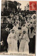 CPA Saint Jean du Doigt-Le Grand Pardon la Procession (188805)