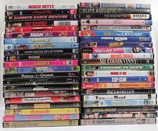 Empty DVD Cases With Original Art Work Lot 40+ RANDOM No CDs Included Free Ship