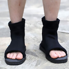 Pair Hot Cosplay Shoes Naruto Ninja Sasuke Kakashi Shoes Halloween Boots 40 US