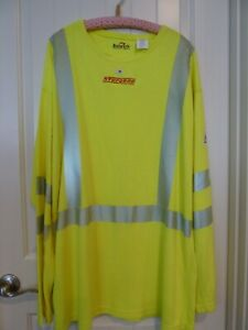 High Visibility Reflective Safety Sweatshirt Pullover Sweater size XXL Bulwark