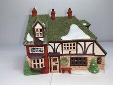 Dept 56 Dickens Village Nicholas Nickleby Cottage #59250 Original Box Lighted