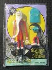 1993 Hasbro NIGHTMARE BEFORE CHRISTMAS Jack as Santa Bendy MOC C-9.2