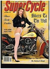 SUPERCYCLE NOVEMBER 1990 CONTENT '56 PANHEAD CUSTOM STREET CHOPPERS HOW TO TIPS