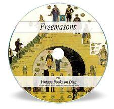 Rare Old Knights Templar Books on DVD - Freemasons Masonic Secret Society 92