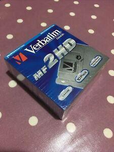 """3.5"""" Floppy Disks - Verbatim MF 2HD - 10 Pack  Discs - Still Sealed"""