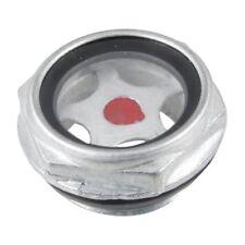 Metallo filettato 26mm maschio compressore d'aria livello dell'olio vetro spia L9A6