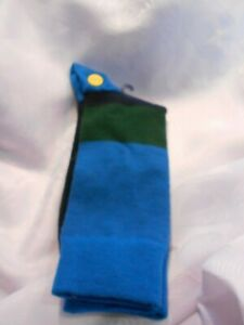 TRETORN -1 PAIRNAVY GREEN AND BLUE SOCKS FOR MEN