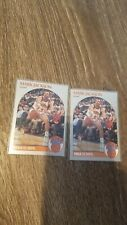 1990-1991 NBA Hoops Mark Jackson Knicks Card 2 card lot w/ Menendez Brothers