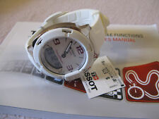 BRAND NEW! TISSOT T-RACE TOUCH WHITE RUBBER SPORTS WATCH. UNISEX WATCH. RRP $575