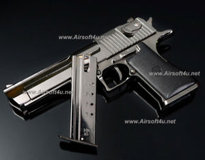 Blackcat Mini Model Gun - Desert Eagle (Shell Eject, Black) For Display Only