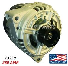 280 AMP 13359 Alternator Mercedes Benz High Output Performance Big Body