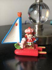 New ListingVintage Strawberry Shortcake Sailor and Sailboat Deluxe Miniature Pvc Figure