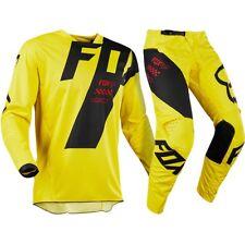 Brand New Fox Adult 180 Mastar Yellow Motocross MX Kit Size 30W Medium Jersey
