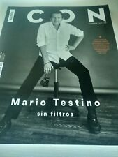 REVISTA MODA ICON: MARIO TESTINO, BARBARA LENNIE, SPANDAU BALLET