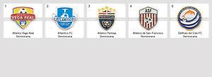 Badge Pin Dominican Republic Football Clubs