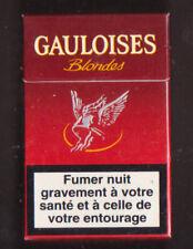 EMPTY Packet 20 Gauloises Blondes