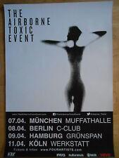 THE AIRBOURNE TOXIC 2015 TOUR    ORIGINAL Concert-Konzert-Poster-Plakat A1