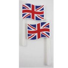 Gb Pack de 2 Drapeau Du Royaume Uni Drapeau de la Grande-Bretagne Hochets Sports