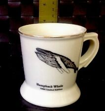 Vintage 1984 Limited Edition Humpback Whale Shaving Mug