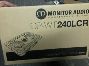 BRANDNEWSEALED Monitor Audio CP-WT240LCR CPWT240LCR In-Wall Speaker (EACH)