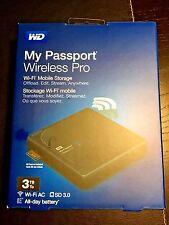 3TB My Passport Wireless Pro SD Backup Portable USB DISK