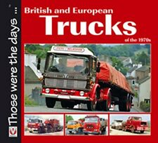 British and European Trucks of the 1970s book paper