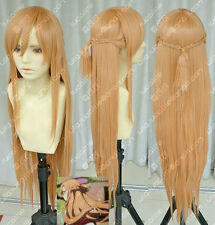 New Sword Art Online Asuna Yuuki Braid Cosplay Wig W24