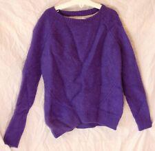 Girls John Lewis Purple 100% Cashmere Super Soft Feel Warm Jumper Age 10 Years