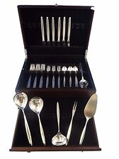 "Kopenhagen by Wmf ""800"" Silver Flatware Service For 6 Dinner Set 35 Pcs Modern"