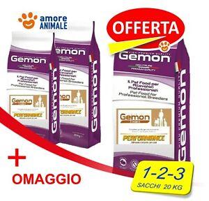 Monge GEMON BREEDERS 20 kg - PERFORMANCE - Crocchette per cane CANI  OFFERTA
