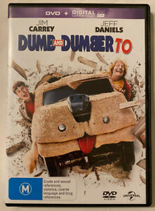 DVD - Dumb And Dumber To (2014 Movie) Regions 2 & 4 - Jim Carrey Jeff Daniels
