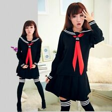 Japan  England College School Girls lovely dress uniform Cosplay lolita